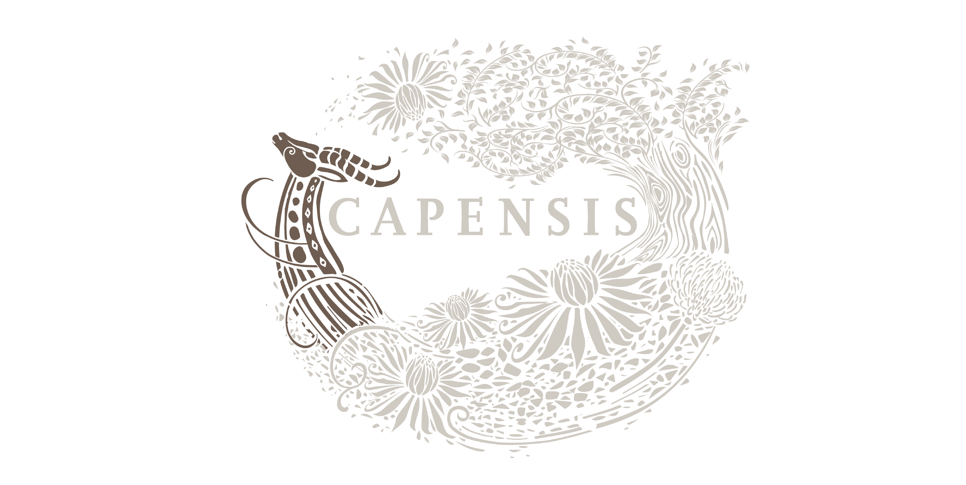 Capensis label with Springbok highlighted